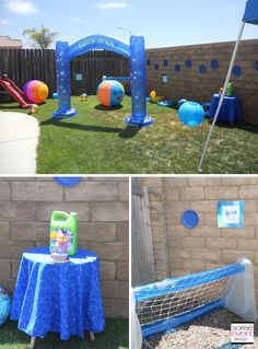 All kinds of outdoor Summer Splash Fun games and activities for kids