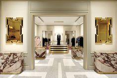 Terrazzo floor. Joseph Dirand. Pucci NYC store.  WSJ.com