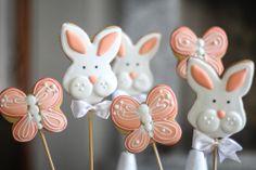 Bunnys de Pascua / mariposas (inspirado en Sugarbelle)