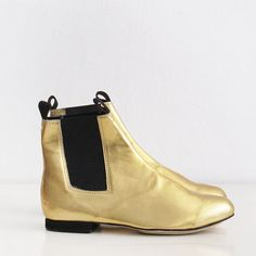 Chelsea leather boots Handmade to order by goldenponies on Etsy, $55.00