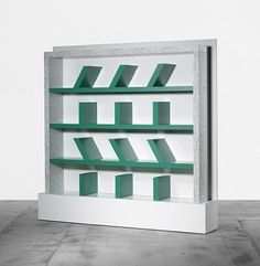 Survetta bookcase by Ettore Sottsass,
