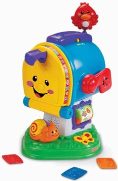Laugh & Learn Learning Letters Mailbox. A toy that intend to deliver a learning fun for babies. This is an educational toy with teaches baby numbers, counting and more...