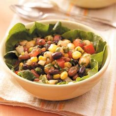 Alfresco Bean Salad Recipe from Taste of Home