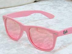 Pink Ray-Ban sunglasses