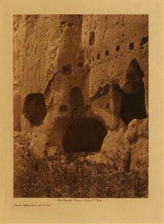 Cave Dwellings At Puye