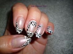 Fife Fantasi Nails : Panther nail design