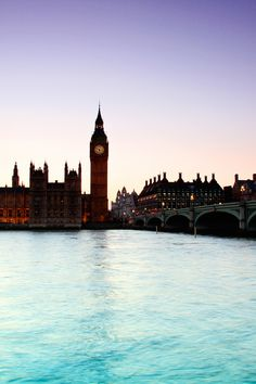 Sunrise over Westminster london home, aqua blue, london calling, london travel, dream, sunris, big ben, rivers, place