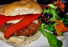 Recipe For Spicy Chickpea Barley and Quinoa Veggie Burger