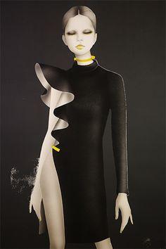 Givenchy 2013 illustration by masaki mizuno