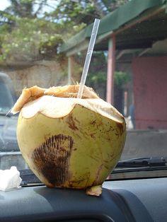 Coco frio (cold). Puerto Rico