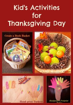 Kid's Activities for Thanksgiving Day