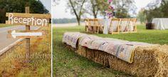 outdoor vintage outdoor wedding reception
