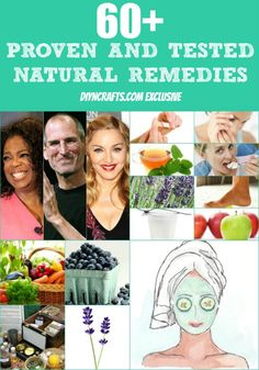 Wow, a must have! 60+ Proven And Tested Natural Remedies  Shared by https://www.facebook.com/AmazingHerbsandOils