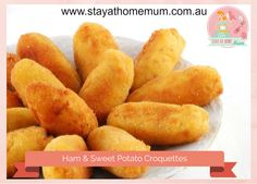Sweet Potato and Ham Croquettes | Stay at Home Mum