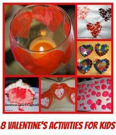 8 Valentine's Day Activities for Kids, #Valentines