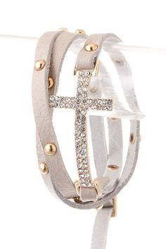 bling, fashion, side cross jewelry, style, accessori, crosses, jewelri, cross bracelets, thing
