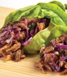 Asian-Style Pulled Pork Lettuce