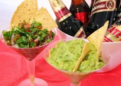 Bohemian Guacamole and Tecate Fresh Salsa Recipes - we love Mexican Recipes! Perfect for Cinco de Mayo