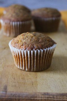 Carrot Cake Muffins #BrunchWeek recipe from Love and Confections I @Terri Truscello (Love & Confections)
