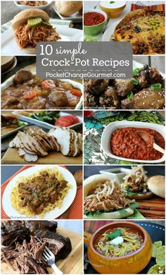 10 Simple Crock-Pot