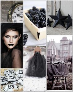 ❥ black and grey