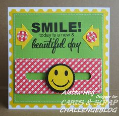 Smile today is a new & beautiful day!
