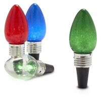 Christmas Light Wine Stoppers