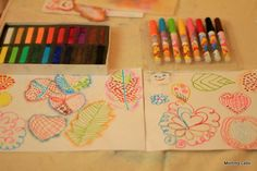 Ways to encourage art observation and visual imagination in kids
