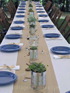 creative tablescapes using paper