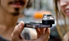 Gadget to shoot 360° panoramic video on iPhone