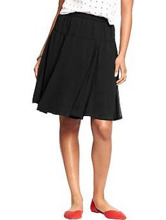 Womens Chiffon Skirts