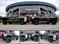 #Want Monster Energy Trucks!