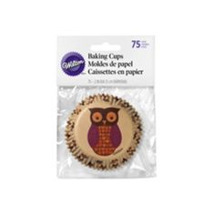 Owl Cupcake Liners 75 Count