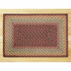 EarthRugs C-81 Burgundy/Black Multi Rug Rug Size: 3' x 5' by Earth Rugs. $86.09. 24-081 Rug Size: 3' x 5' Features: -Technique: Braided.-Material: Jute.-Origin: Bangladesh. Construction: -Construction: Handmade. Color/Finish: -Color: Burgundy, Black, Sage. Dimensions: -Pile height: 0.2''.