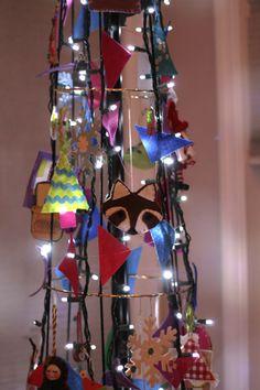 DIY: alternative christmas tree tutorial | @Rachael (imagine gnats) #fabulouslyfestive