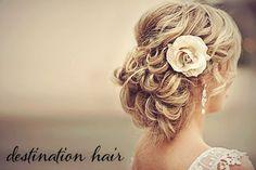 LIZ!...Wedding hair idea!