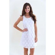 Take Me To the Altar Dress-White