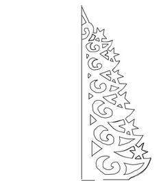 Трафареты для окон декора своими руками шаблоны