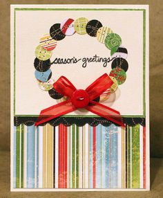 Season's Greetings Card - Scrapbook.com