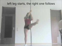 Pole Dance Tutorial: Fan Legs