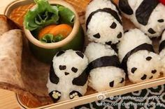 Chinese Asian party food feast sushi cute decoration Kung fu