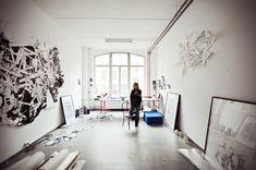 Bettina Krieg's studio