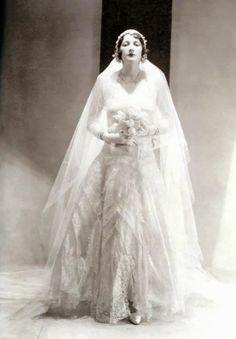 Chanel- 1920's wedding dress
