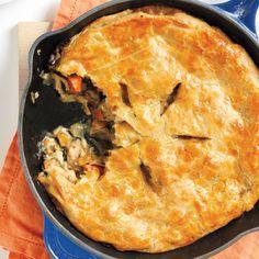 Roast Chicken Pot Pie Recipe -