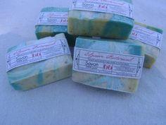 Oatmeal Goatmilk Soap with Essential oils of Black Spruce, Cardamom and Valencia Orange ElysianBotanicals, $6.00
