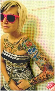sleeve and chest piece