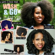 Get more bang for your buck Luvlees!!! If you leave it in for 6 weeks, you can rock a different look every week!
