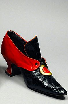 Pinet Shoes - c. 1919 - by F. Pinet, Paris - The Los Angeles County Museum of Art - @~ Mlle