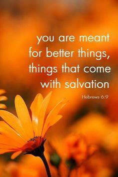Hebrews 6:9...