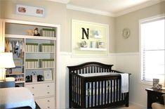 blue/green/tan nursery